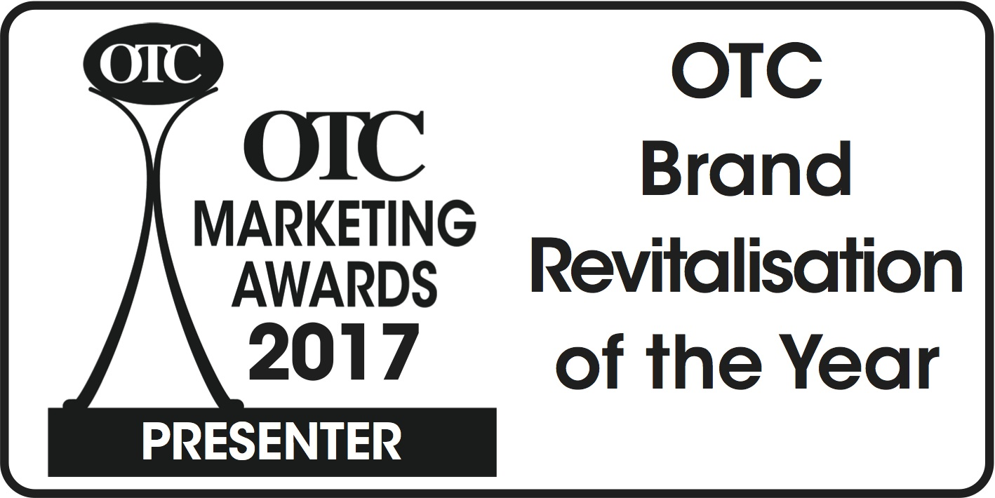 OTC Marketing Awards 2017 Presenter: OTC Brand Revitalisation of the Year