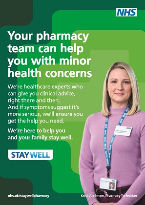 Stay Well Pharmacy poster