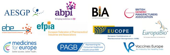 Life Sciences trade association logos