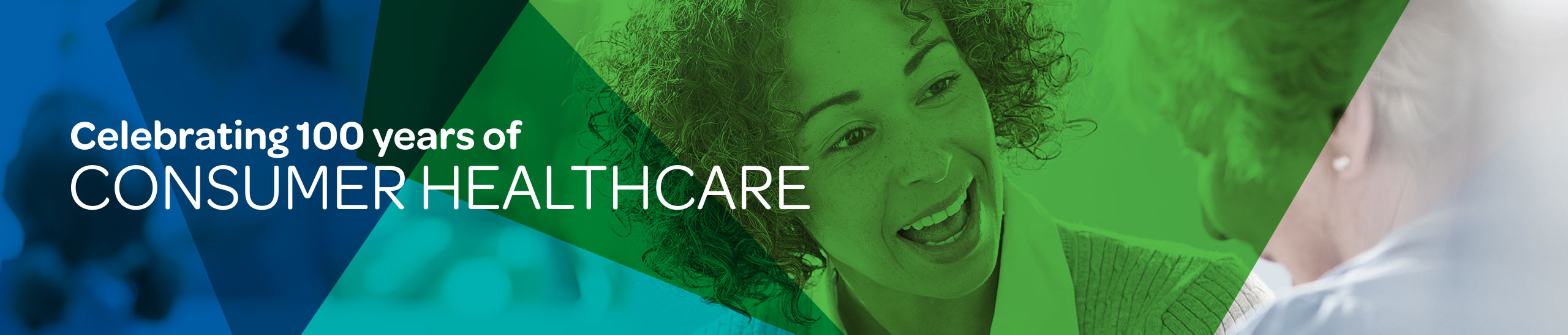 Celebrating 100 years of consumer healthcare spotlight header image