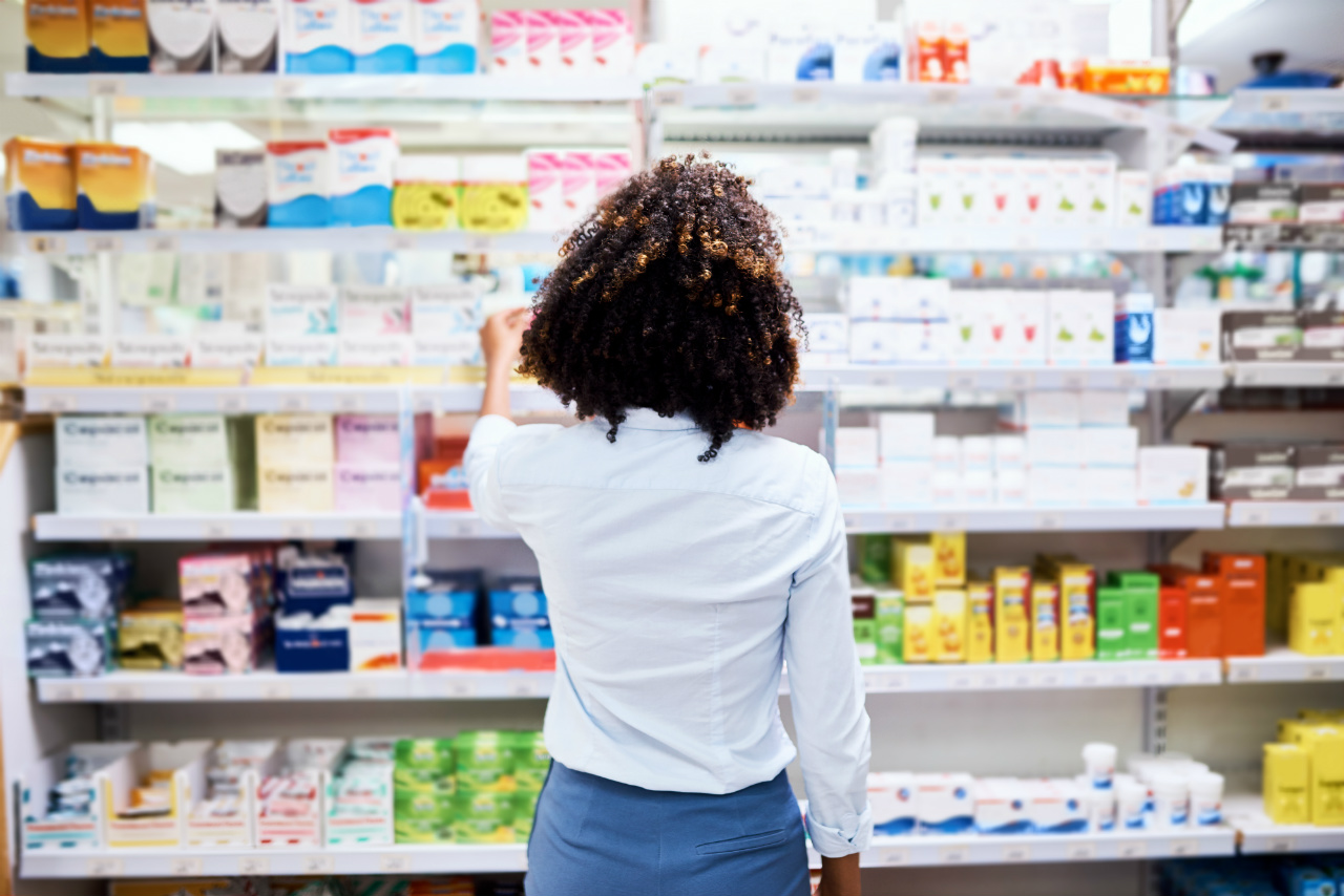 woman browsing OTC Products