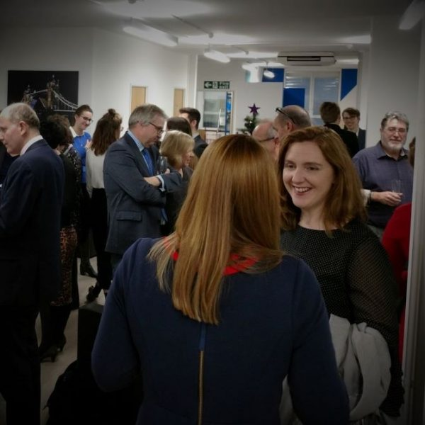 Meet and Mingle informal networking event