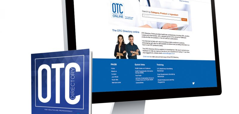 OTC directory (for healthcare professionals)