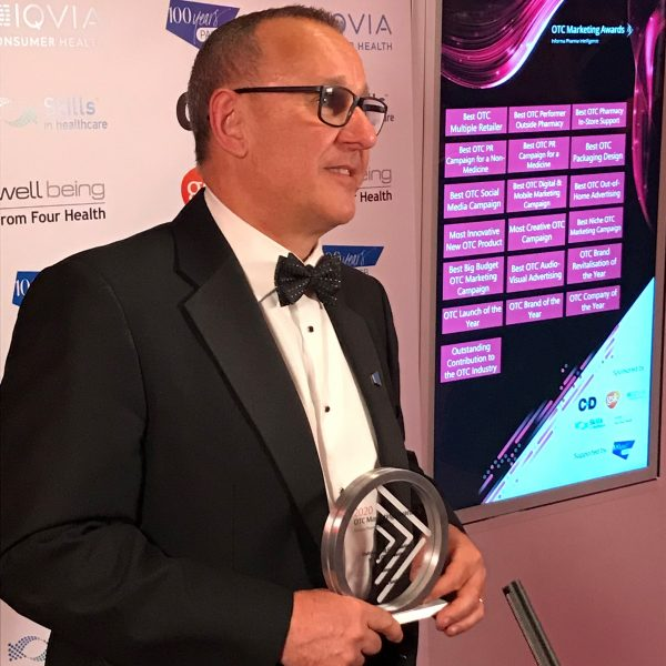 PAGB's John Smith honoured at OTC Marketing Awards