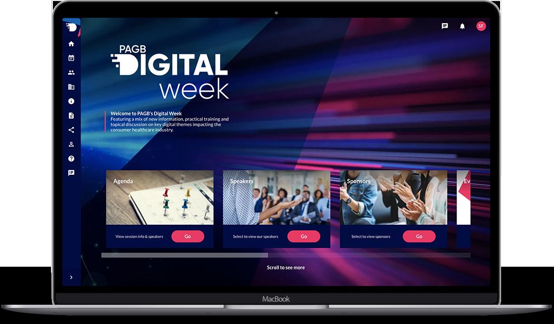 Digital week logo