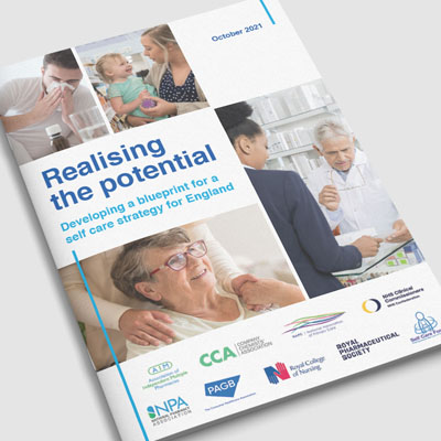 Realising the potential. Developing a blueprint for a self care strategy for England